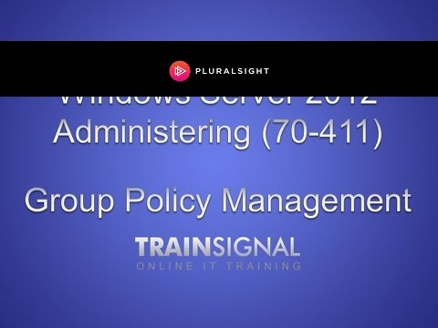 How to manage group policy in Server 2012