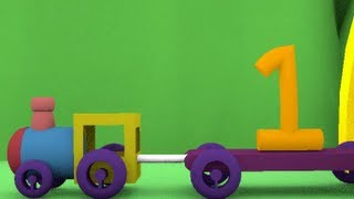 Number Train : 3D HD Animation Video