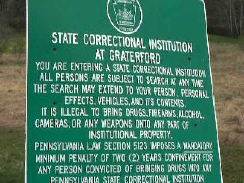 Main Entrance To Graterford State Correctional Institution