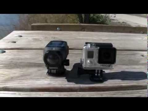 Garmin VIRB vs. GoPro Hero3+ : Test 1