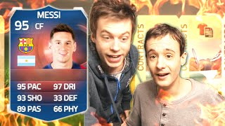 RECORD BREAKER MESSI PACK PRANK!!! - FIFA 15 Ultimate Team Pack Opening