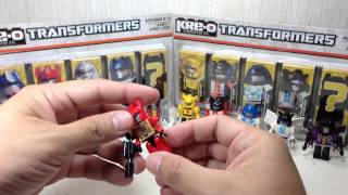 Ultimate Kreon Collection Kre O Transformers 5 Packs