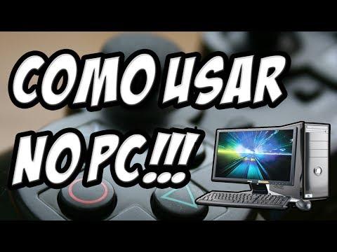 Como usar o controle do PS3 no PC! (Com fio e sem Fio!)