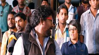 Husbands in Goa - Husbands In Goa Action Movie Scene - Friends helping Cop to Catch a Thief