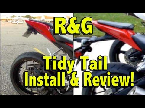 R&G Tidy Tail Install and Review - 2012 Honda CBR1000rr Fender Eliminator Kit
