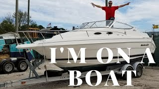 HUGE BOAT Bought On Copart Donation Auto Auction
