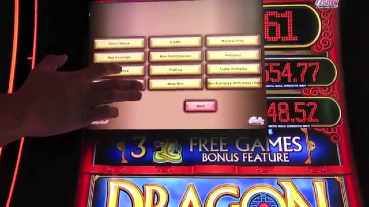 dragon rising slot tips in vegas