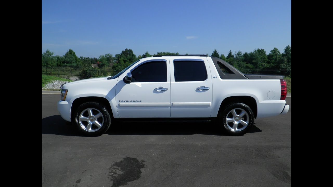2013 Chevy Avalanche For Sale By Owner >> sold.2008 CHEVROLET AVALANCHE LTZ 4X2 5.3 VORTEC GM CERTIFIED 49K 1 OWNER FOR SALE CALL 855-507 ...