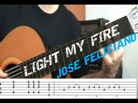 Jose Feliciano - Light My Fireeasy Guitar