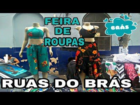 FEIRAS DE ROUPAS NAS RUAS FAMOSAS DO BRÁS| TOUR NO BRÁS