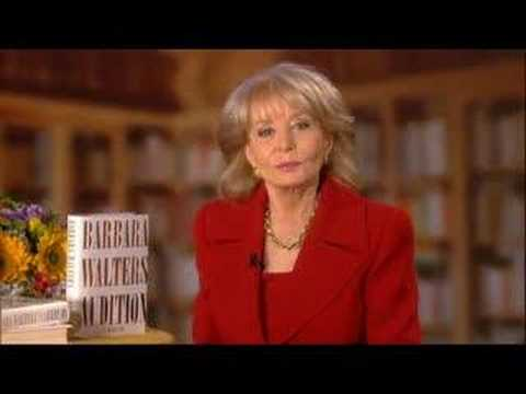 "Barbara Walters talks about her new memoir ""Audition"""