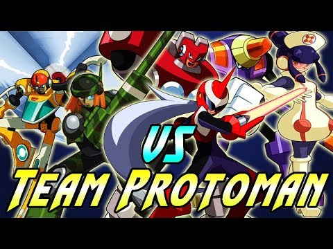 Megaman Battle Network 5 Team Protoman Omega Navis