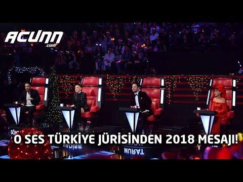 O Ses Türkiye jürisinden Acunn.com'a özel 2018 mesajı!