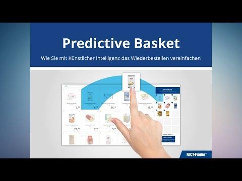 Predictive Basket - Wie Sie mit Künstlicher Intelligenz das Wiederbestellen vereinfachen | Webinar