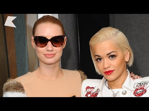 Iggy Azalea & Rita Ora chat stunts, bras & more - Kiss FM (UK)