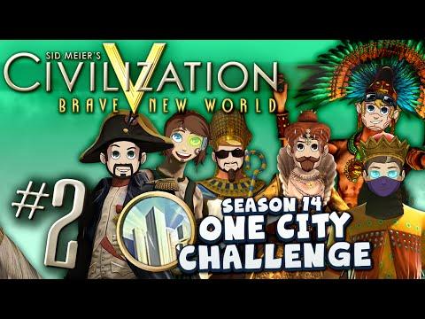 Civ V: One City Challenge #2 - Mad Wicked Sick Bank