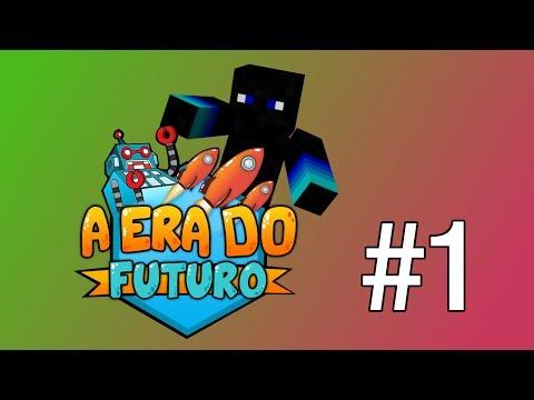 Minecraft: A Era Do Futuro Episódio #1 O Que Raio Estou A Fazer