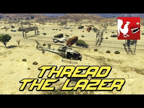 Things to do in GTA V - Thread the Lazer