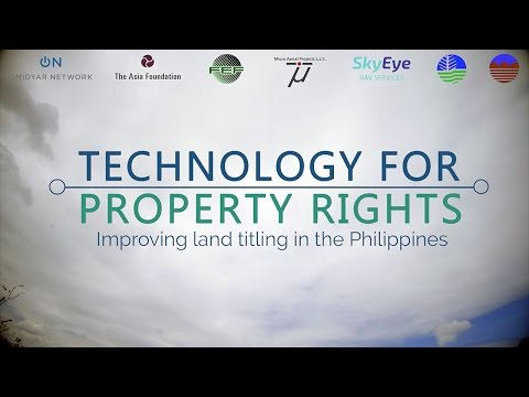Technology For Property Rights: Improving Land Titling in the Philippines