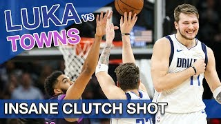 How Luka Doncic and the Mavericks beat Karl-Anthony Towns and the Timberwolves on the road