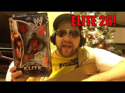 WWE Elite series 26 UNBOXING SUPREME! Mattel wrestling action figures NEW FROM RSC