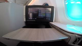 AC1176 YVR-YYZ Air Canada Business Class Boeing 787 4K GoPro