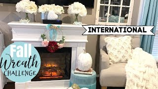 INTERNATIONAL FALL WREATH CHALLANGE 2019