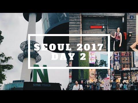 KOREA Vlog: Day 2 | LOTBS House, Namsan Tower, Myeongdong