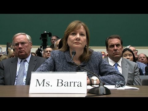 Ceo Mary Barra Reads Full Testimony At Gm Recall Hearing