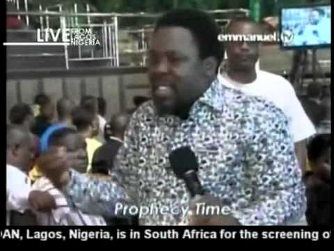 TB Joshua Prayer & Prophecy 04-05-2013