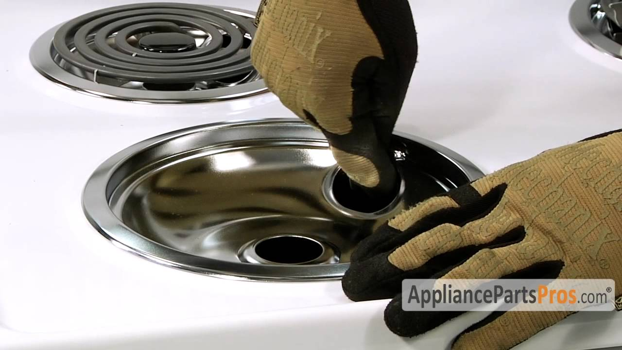 Oven Chrome Drip Pan Kit How To Replace Youtube