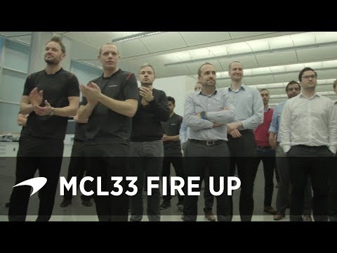 MCL33 First Fire Up!