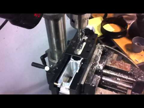 Homemade AR-15 Drill Press and Jig