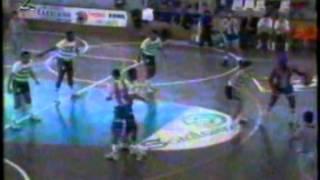 Basquetebol :: Porto - 99 x Sporting - 77 de 1990/1991