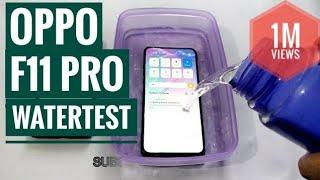OPPO F11 PRO WATERTEST | HALF TECH