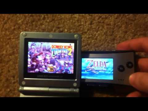 Gameboy Micro VS Gameboy Advance SP