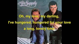 Air Supply - Unchained Melody (1995) with lyrics
