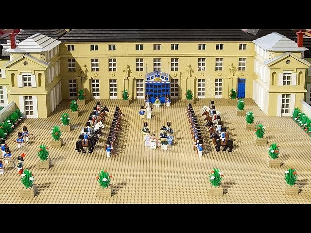 Lego for the Waterloo anniversary! - no comment