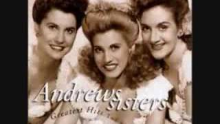 I'll be with you in apple blossom time-The Andrews Sisters