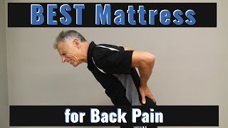 BEST Mattress for Back Pain; According to Science + Giveaway!