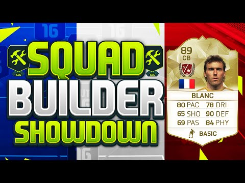FIFA 16 SQUAD BUILDER SHOWDOWN!!! FIRST OWNER LEGEND BLANC!!! Laurent Blanc Squad Duel