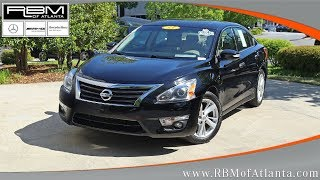 Used 2013 Nissan Altima 2.5 SL Sedan ATLANTA, GA U14890A