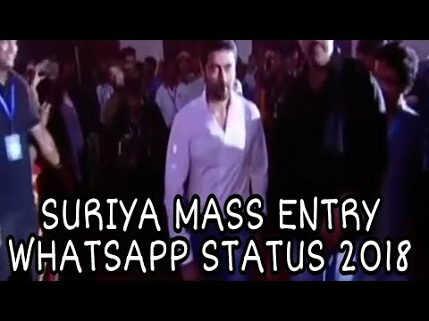 Suriya mass entry WhatsApp status
