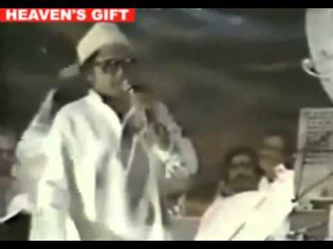 KISHORE KUMAR LIVE IN CONCERT   Manzilain Apni Jagha Hai Raaste...