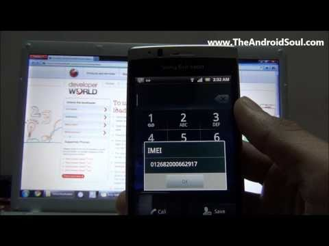 How To Unlock Xperia Arc Boot loader [www.TheAndroidSoul.com HD]