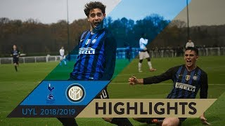 TOTTENHAM 2-4 INTER | HIGHLIGHTS | Merola39s fantastic backheel! | Matchday 05 UEFA Youth League