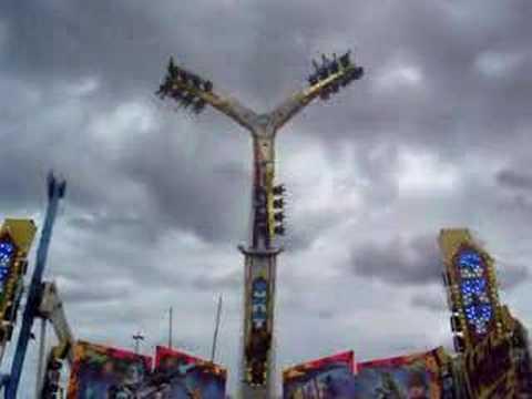 skywalker amusement ride sydney royal easter show  youtube
