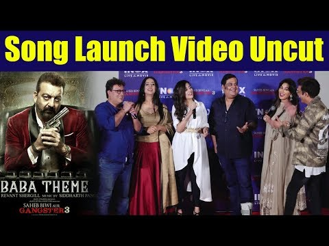 Download Lagu  Saheb Biwi Aur Gangster 3 song 'Lag Jaa Gale' Launch; UNCUT  | FilmiBeat Mp3 Free