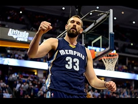 Marc Gasol Pours in 27 to Lead Grizzlies Past the Nuggets