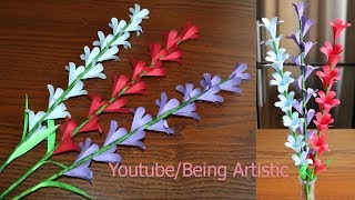 Paper Flower Stick 2 - DIY - Paper Craft - Handcraft